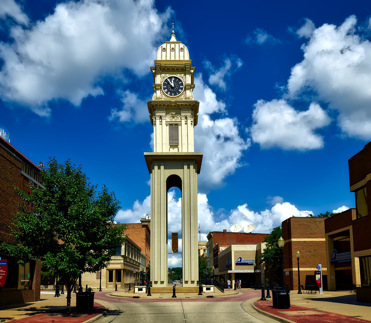 Clock Tower Dubuque