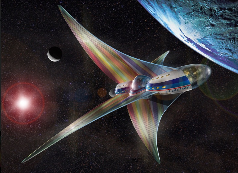 SS Destiny spacecraft
