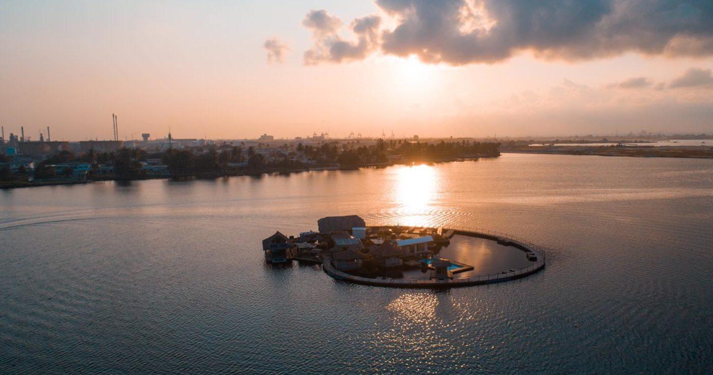 L'île Flottante