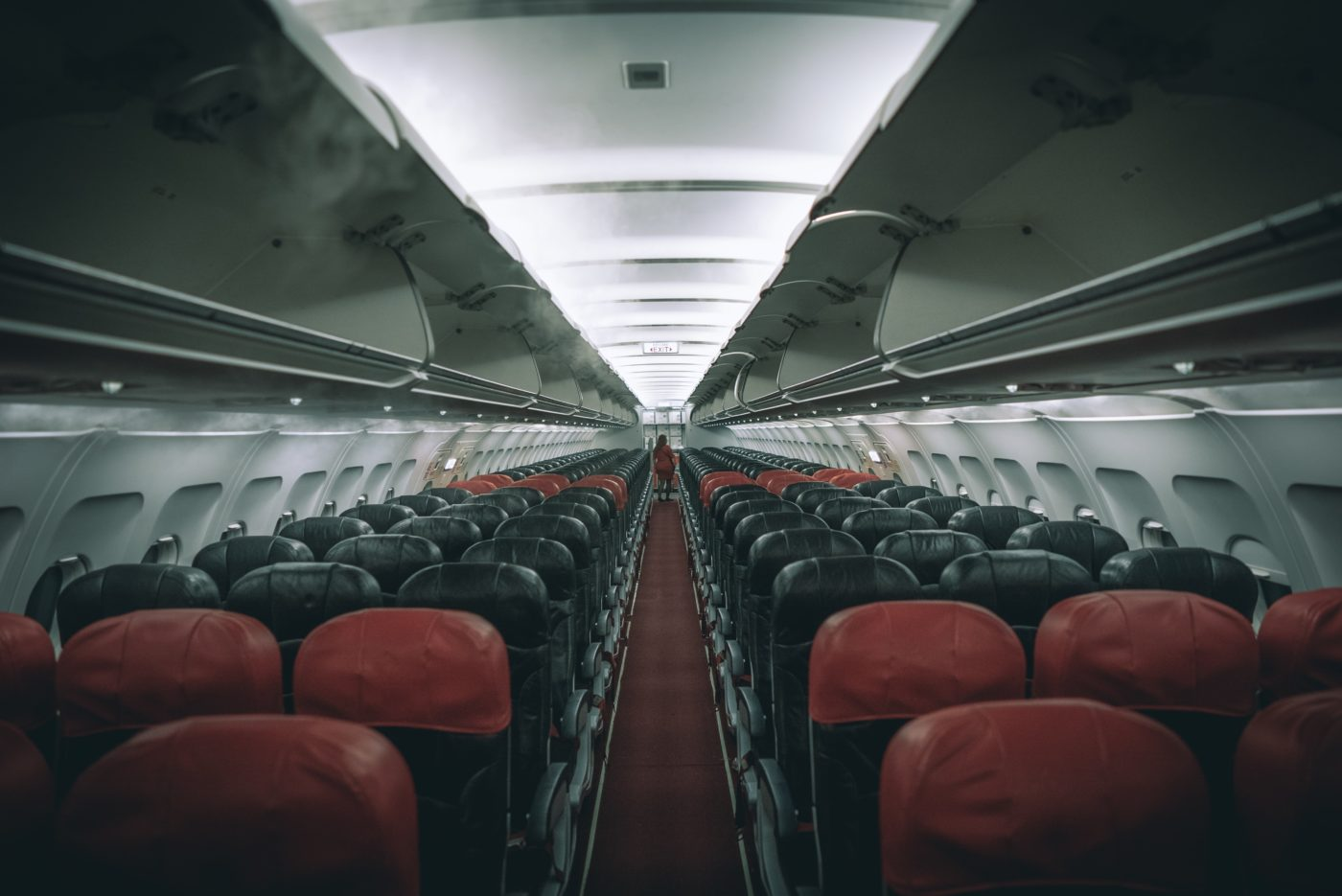 middle seat airplane