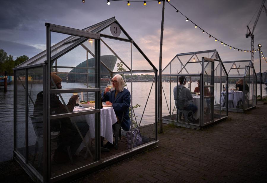 Mediamatic restaurant